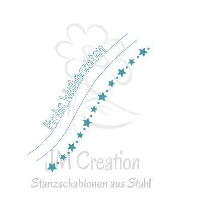 JM Creation Stanzschablonen Frohe Weihnachten 03-00058