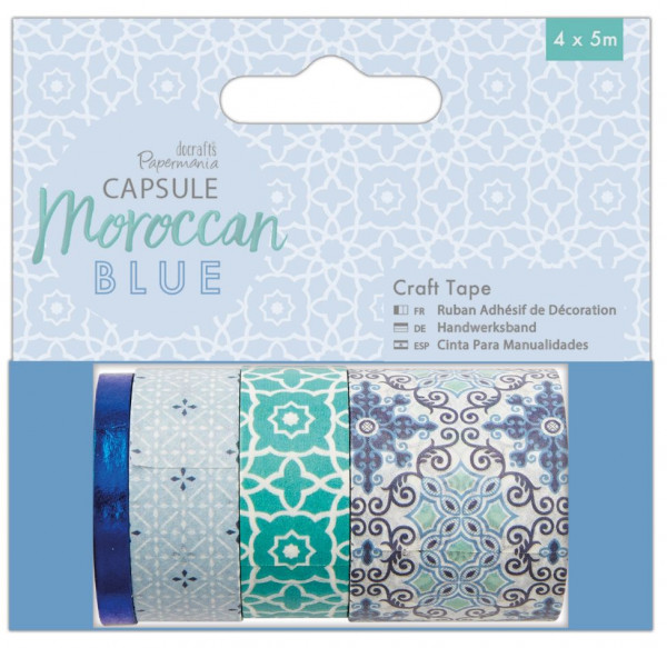docrafts Papermania capsule collection moroccan blue Craft Tape