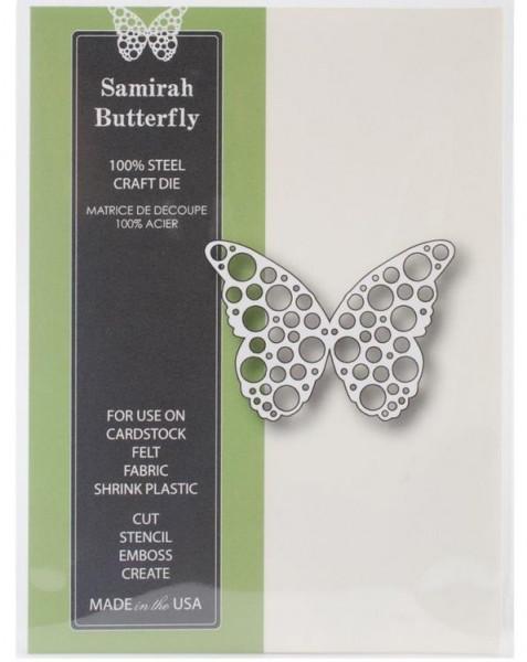 Poppystamps Die / Stanzschablone Samirah Butterfly 1004