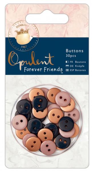 docrafts ForeverFriends Opulent Collection Miniknöpfe