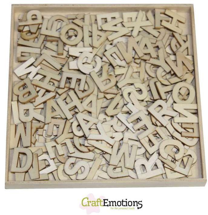 craft abverkauf craftemotions holz ornament box alphabet klein 811500 0299. Black Bedroom Furniture Sets. Home Design Ideas