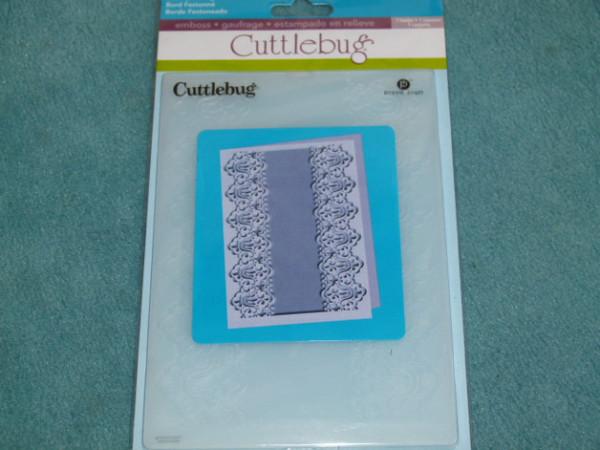 Cuttlebug Embossingfolder Scalloped Edge