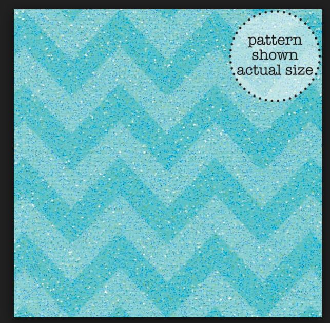 Doodlebug chevron sugar coated cardstock swimming pool for Swimmingpool abverkauf
