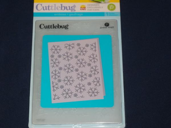 Embossingfolder Cuttlebug Ice Crystals