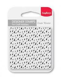 ScrapBerrys Clear Stamp Regentropfen SCB4907102