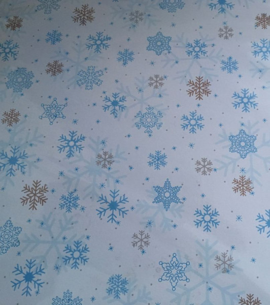 Ursus Inspiration Scrapbook Papier Classic Christmas blau/braun Motiv 03 12x12